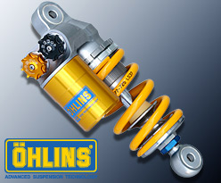 OHLINS TTX サスペンション